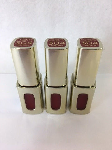 L'oreal Color Riche Extraordinaire Liquid Lipstick, 304 Ruby Opera x 6 (£1.80 each)