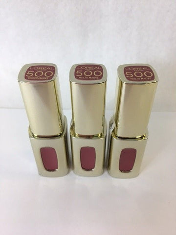 L'oreal Color Riche Extraordinaire Liquid Lipstick, 500 Molto Mauve x 6 (£1.80 each)