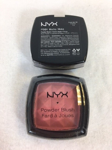 NYX Powder Blush, 01 Mocha x 3 (£2.25 each) - Fizzy Peach Ltd