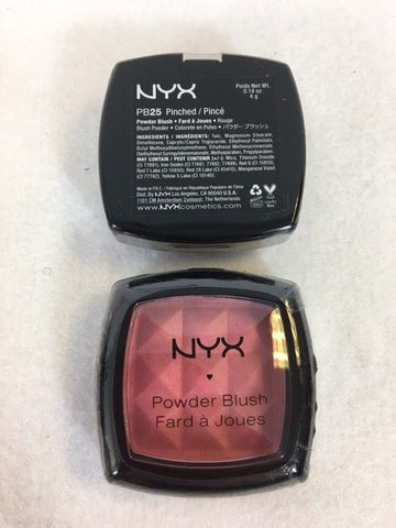 NYX Powder Blush, 25 Pinched x 3 (£2.25 each)