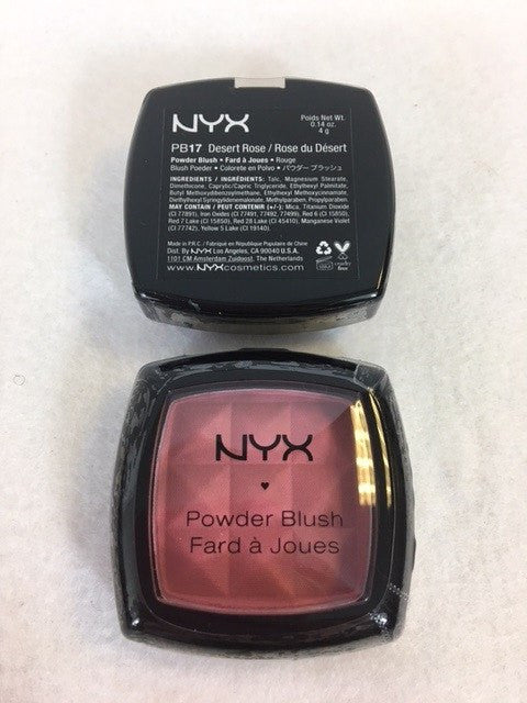 NYX Powder Blush, 17 Desert Rose x 3 (£2.25 each) - Fizzy Peach Ltd