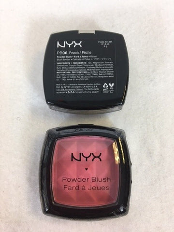 NYX Powder Blush, 06 Peach x 3 (£2.25 each)