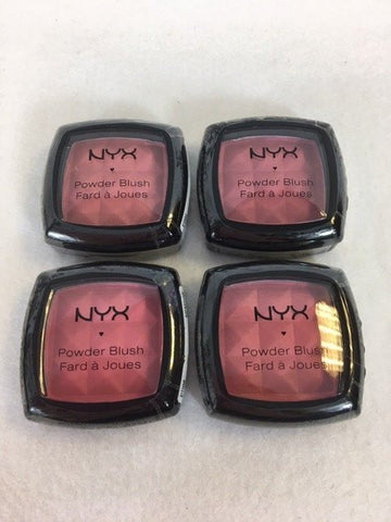 NYX Powder Blush, Assorted x 4 (£2.25 each)