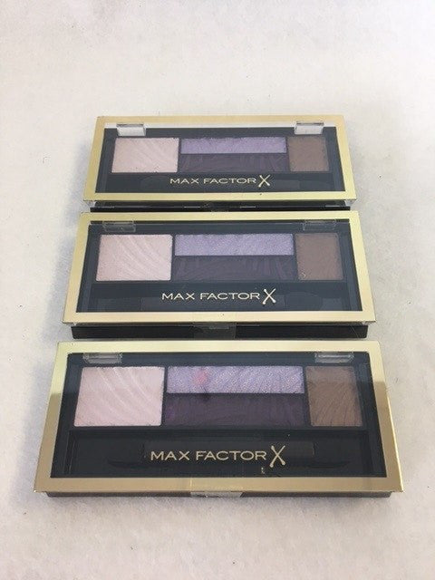 Max Factor Smokey Eye Drama Kit, 04 Luxe Lilacs x 3 (£2.40 each) - Fizzy Peach Ltd