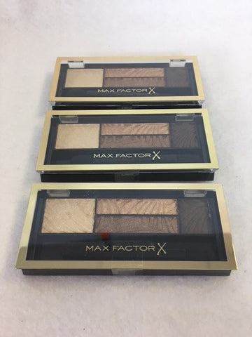 Max Factor Smokey Eye Drama Kit, 03 Sumptuous Golds x 3 (£2.40 each)
