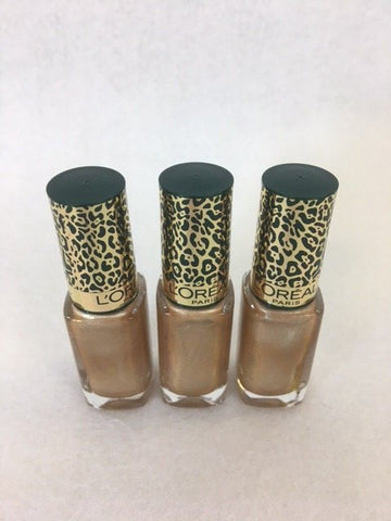 L'oreal Color Riche Nail Polish, 420 L' Or Jungle x 12 (£0.40 each)