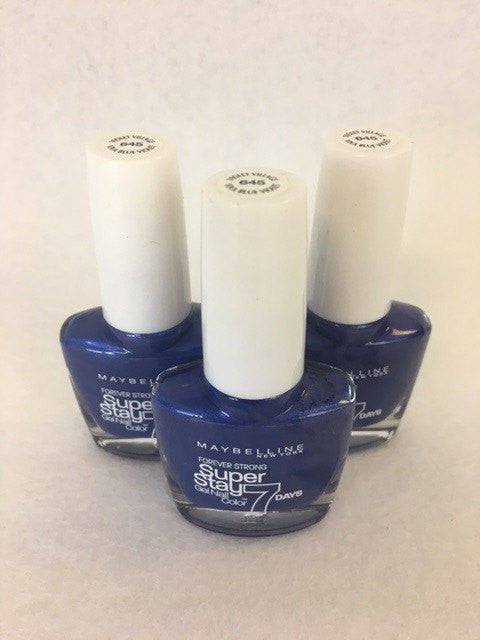 Maybelline Superstay 7 Days Gel Nail Colour, 645 Violet Village x 6 (£0.50 each)