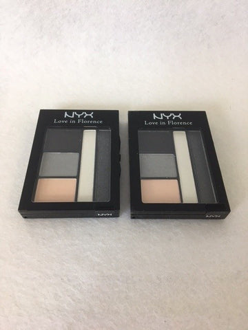 NYX Love In Florence 5 Colour Eyeshadow Palette, 06 Tryst By The Trevi x 3 (£2.25 each)