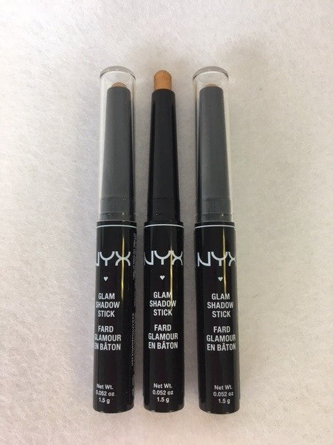NYX Glam Shadow Stick, 14 Divine Amber x 3 (£2.25 each) - fizzypeach