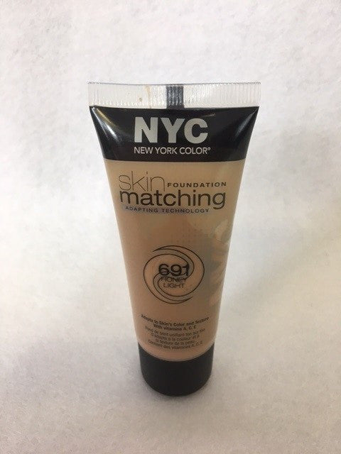 NYC Skin Matching Foundation, 691 Honey Light x 6 (£1.00 each) - fizzypeach