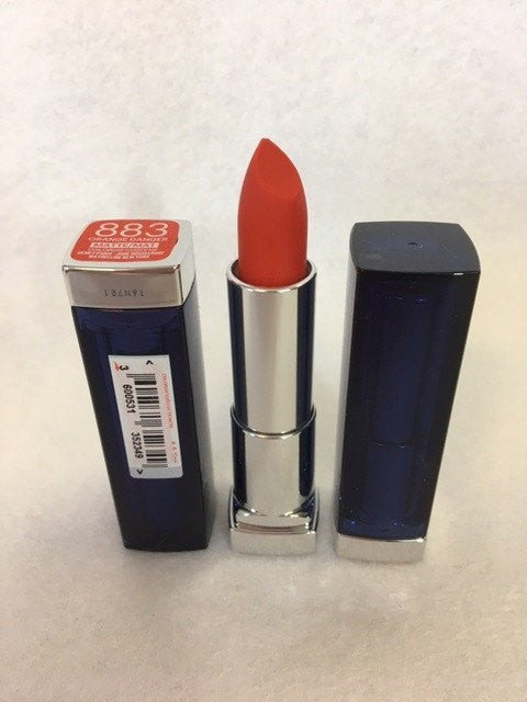 Maybelline Color Sensational Matte Lipstick, 883 Orange Danger x 6 (£1.20 each) - fizzypeach