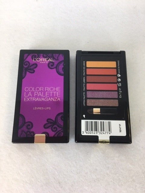 L'oreal Color Riche La Palette Extravaganza Lips x 1 (£3.50 each) - fizzypeach