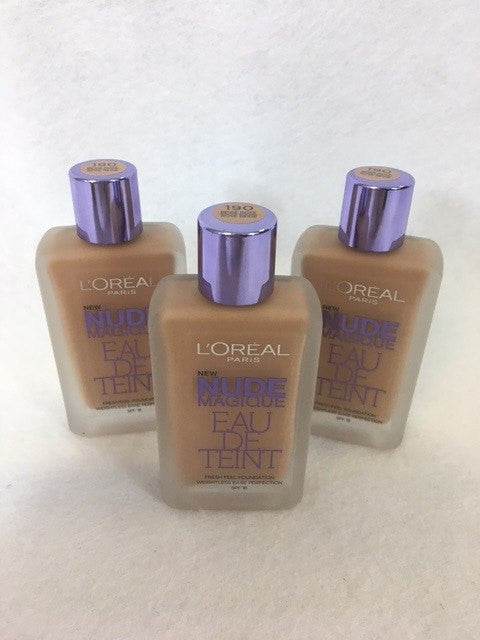 *CLEARANCE* L'oreal Nude Magique Eau De Teint Foundation, 190 Rose Beige x 6 (£2.50 each) - fizzypeach