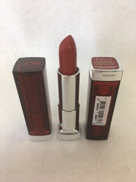 Maybelline Color Sensational Lipstick, 553 Glamourous Red x 6 (£1.20 each) - fizzypeach