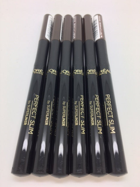 L'oreal Super Liner Perfect Slim Eyeliner, Brown x 6 (£1.20 each)