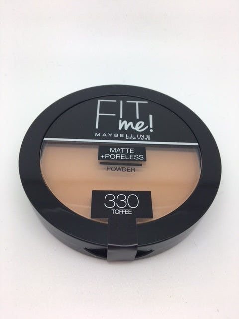 Maybelline FIT ME Matte + Poreless Powder, 330 Toffee x 6 (£1.95 each)