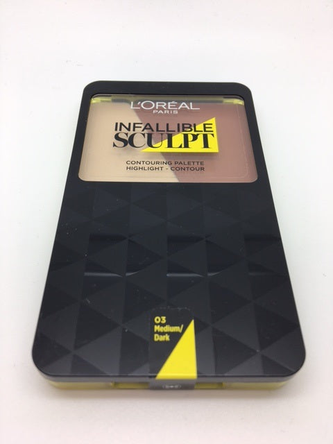 L'oreal Infallible Sculpt Contouring Palette, 03 Medium / Dark x 6 (£1.95 each)