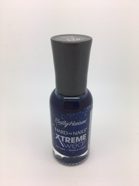 Sally Hansen Hard as Nails Xtreme Wear Nail Polish, 423 Blue Boom x 2 (£0.75 each)