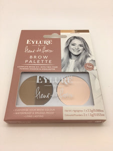 *CLEARANCE* Eylure Fleur de Force Brow Palette, Light x 6 (£1.00 each) WAS £1.50