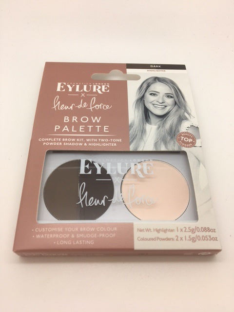 Eylure Fleur de Force Brow Palette, Dark x 6 (£1.50 each)