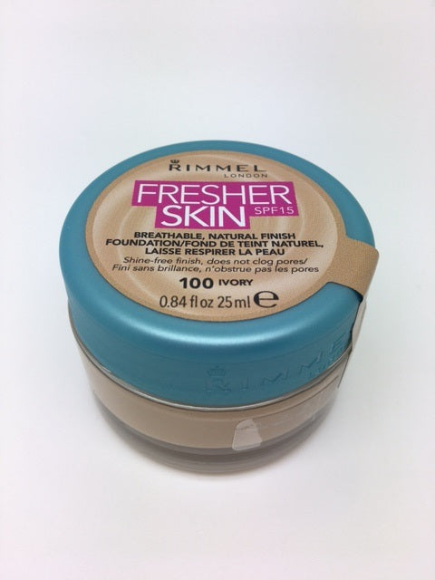 Rimmel Fresher Skin Foundation, 100 Ivory x 6 (£2.50 each)