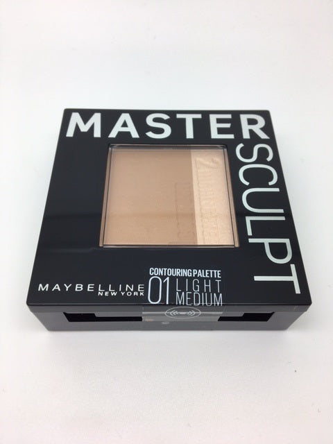 *Clearance* Maybelline Master Sculpt Contouring Palette, 01 Light Medium x 48 (£1.65 each)