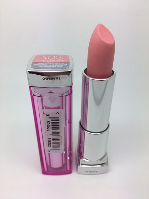 Maybelline Color Sensational Lipstick, 103 Iridescent Rose Diamonds x 6 (£1.20 each)