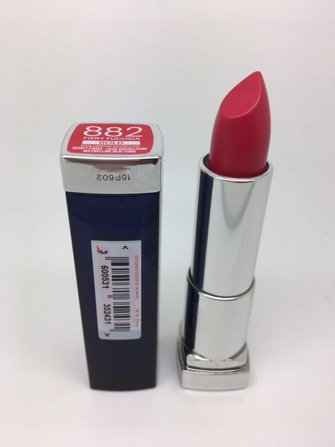 *Clearance* Maybelline Color Sensational BOLD Lipstick, 882 Fiery Fuchsia x 48 (£1.00 each)