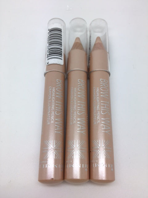 Rimmel Brow This Way Highlighting Pencil, 002 Shimmer x 6 (£1.20 each)