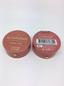 Bourjois Little Round Pot Blusher, 16 Rose Coup De Foudre x 6 (£1.95 each)