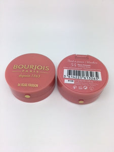 Bourjois Little Round Pot Blusher, 54 Rose Frisson x 6 (£1.95 each)