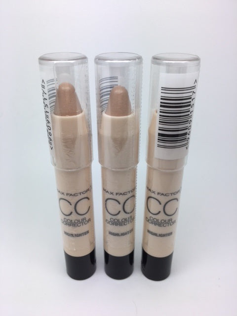 Max Factor CC Colour Corrector Pen, Highlighter x 6 (£1.80 each)