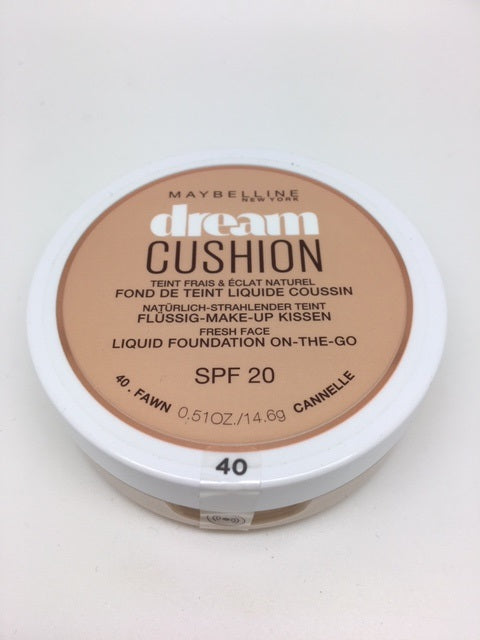 *SPECIAL PRICE* Maybelline Dream Cushion Foundation, 40 Fawn x 6 (£1.95 each)