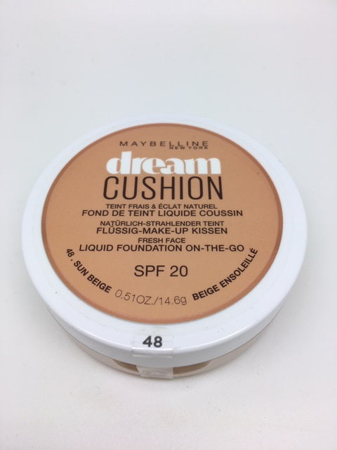 *SPECIAL PRICE* Maybelline Dream Cushion Foundation, 48 Sun Beige x 6 (£1.95 each)