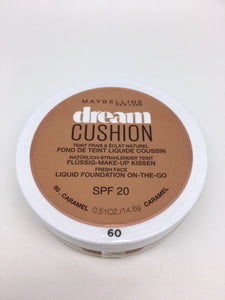 *DISCOUNTED PRICE* Maybelline Dream Cushion Foundation, 60 Caramel x 6 (£1.95 each)(See Description)