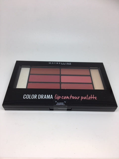 Maybelline Color Drama Lip Contour Palette, Blushed Bombshell x 6 (£1.50 each)