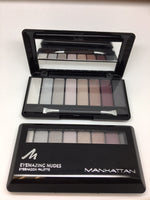 Manhattan Eyemazing Nudes Eyeshadow Palette, 200 Shades of Manhattan x 6 (£0.90 each)