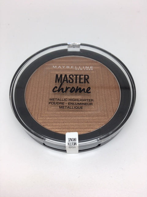 Maybelline Master Chrome Metallic Highlighter, 150 Molten Bronze x 6 (£1.50 each)