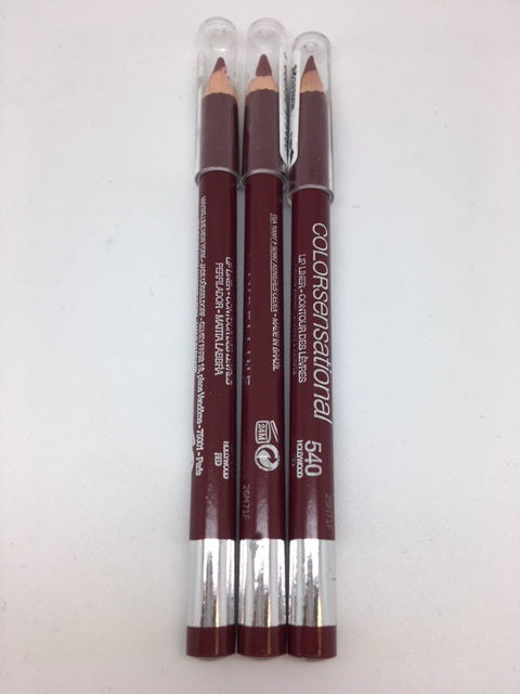 Maybelline Color Sensational Lip Liner, 540 Hollywood Red x 6 (£0.75 each)
