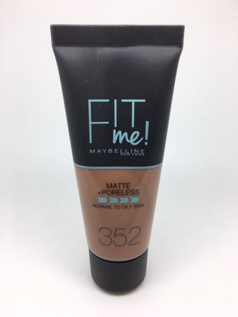 *Clearance* Maybelline Fit Me Foundation, Matte + Poreless, 352 Truffle x 48 (£1.50 each)