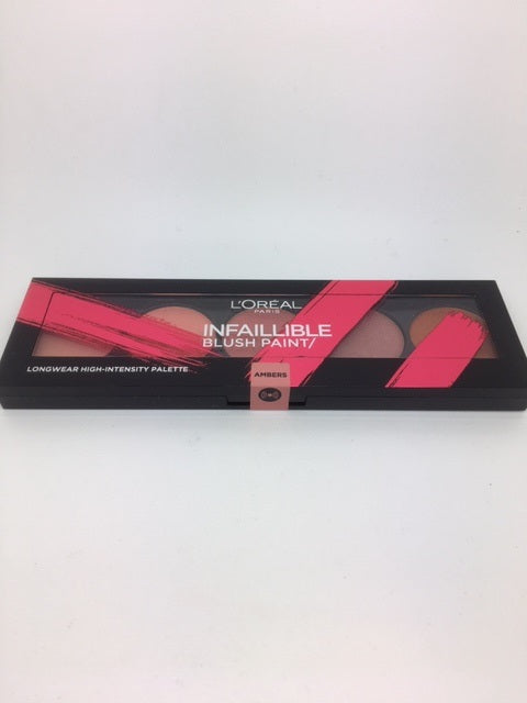 L'oreal Infallible Blush Paint Palette, Ambers x 6 (£1.95 each)