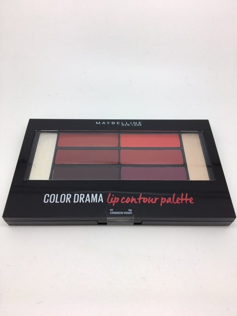 *Clearance* Maybelline Color Drama Lip Contour Palette, 01 Crimson Vixen x 48 (£1.20 each)