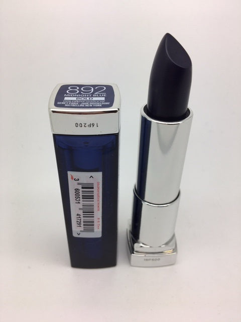 Maybelline Color Sensational BOLD Lipstick, 892 Midnight Blue x 6 (£1.20 each)