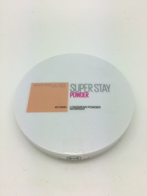 Maybelline Superstay Waterproof Powder, 40 Fawn x 6 (£2.25 each)