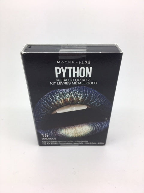 Maybelline Python Metallic Lip Kit, 15 Venomous x 6 (£1.20 each)