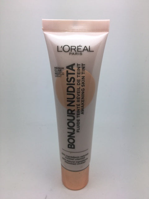 L'oreal Bonjour Nudista Awakening Skin Tint, 30ml, Medium Light x 6 (£1.95 each)