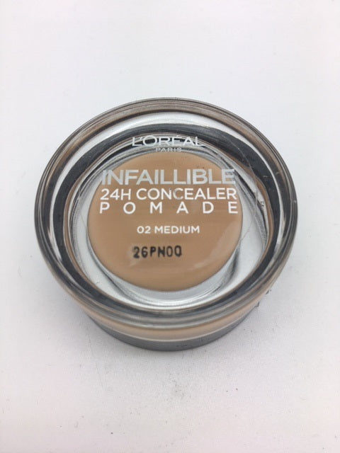 L'oreal Infallible 24h Concealer Pomade, 02 Medium x 6 (£1.50 each)