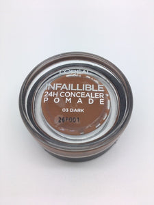 *Clearance* L'oreal Infallible 24h Concealer Pomade, 03 Dark x 48 (£1.20 each)