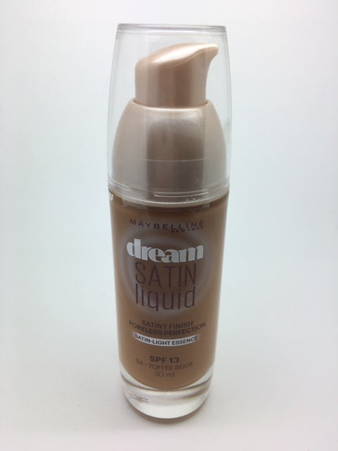 Maybelline Dream Satin Liquid Foundation, 54 Toffee Beige x 6 (£2.25 each)