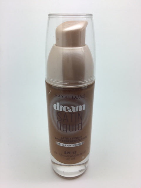 Maybelline Dream Satin Liquid Foundation, 62 Sandalwood Beige x 6 (£2.25 each)